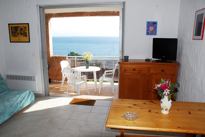 location appartement corse à Tarco