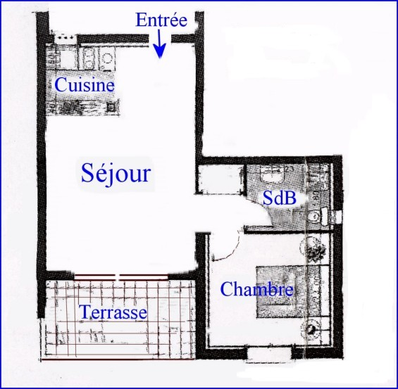 location appartement corse